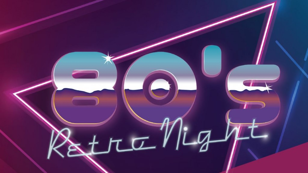 80s retro night