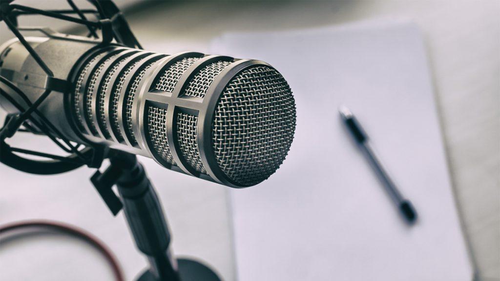 a radio microphone